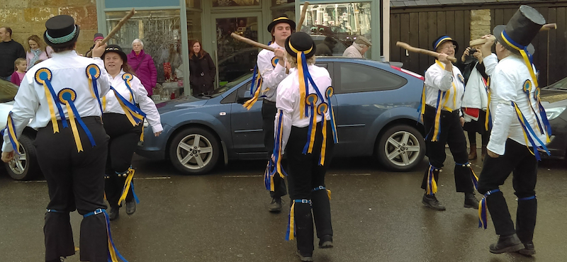 Babylon dancing in Beaminster